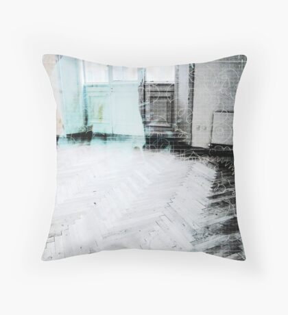 Angel in a Room Throw Pillow