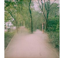 Double Paths Photographic Print