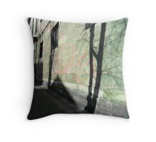 My Town in a Miraculous Moment Throw Pillow