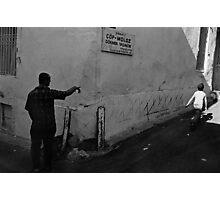Kadifekale Neighborhood in Izmir Turkey Photographic Print