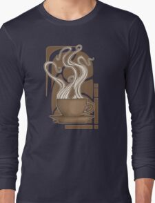 Coffee Nouveau Long Sleeve T-Shirt