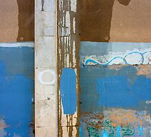 Flood Wall Abstract by Daniel Owens