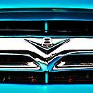 Blue F100 V8 emblem by htrdesigns