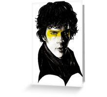 Sherlock yí Greeting Card