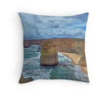 Dramatic (Watercolor) Throw Pillow