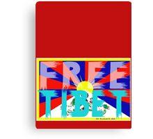 FREE TIBET Canvas Print