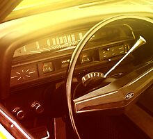 Vintage Ford dashboard by htrdesigns