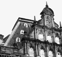 The Caley ~ Destination Edinburgh, Scotland by artwhiz47