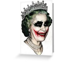 Jokerqueen Greeting Card