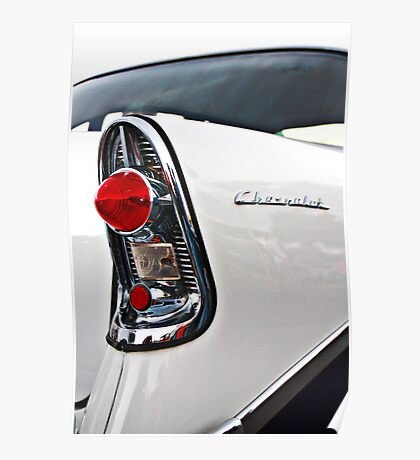 Chevy Bel Air 56 tail light Poster