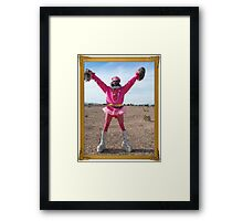 Silly Man Framed Print