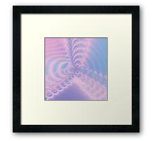 Pink Windmill Framed Print