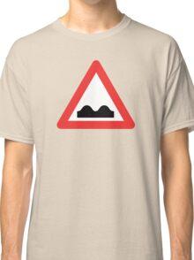 Warning breasts Classic T-Shirt