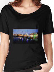 Torquay Harbour Bridge  Women's Relaxed Fit T-Shirt