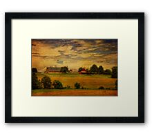 And The Livin' Is Easy Framed Print