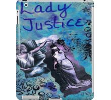 Lady Justice iPad Case/Skin
