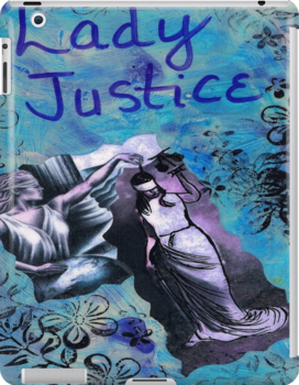 Lady Justice by Inner Child Art