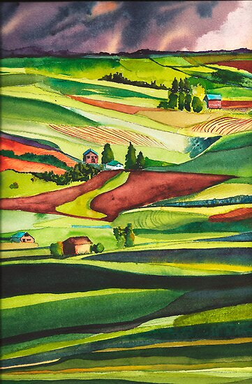The Palouse by Sally Griffin