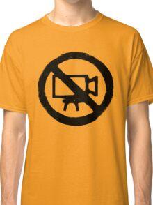 No Camera Classic T-Shirt