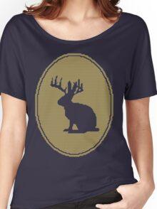 Rabbit Design Women's Relaxed Fit T-Shirt