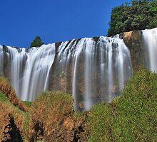Elephant Waterfall 2 by Adri  Padmos