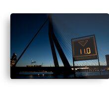Erasmus bridge Metal Print