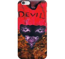 The Devil Himself iPhone Case/Skin