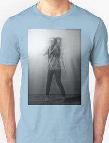 Black & White Motion Blur  T-Shirt