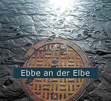Ebbe an der Elbe | Low Tide at the Elbe by Susanne Sachers