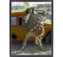 Kooky Man Photographic Print