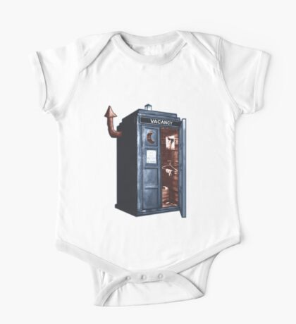 Doctor Who Gives A Sh!t. One Piece - Short Sleeve