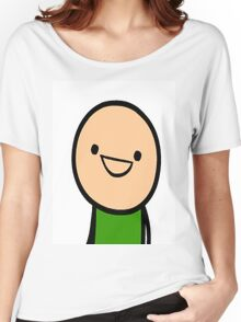 CYANIDE & HAPPINESS FACE Women's Relaxed Fit T-Shirt