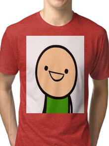 CYANIDE & HAPPINESS FACE Tri-blend T-Shirt