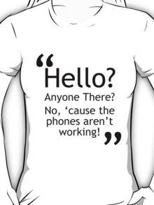 Torchwood - Phones Aren't Working T-Shirt