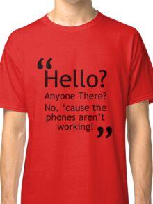 Torchwood - Phones Aren't Working Classic T-Shirt