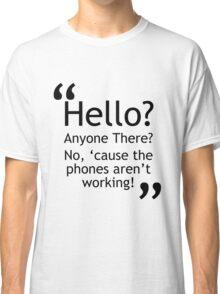 Torchwood - Phones Aren't Working Classic T-Shirt
