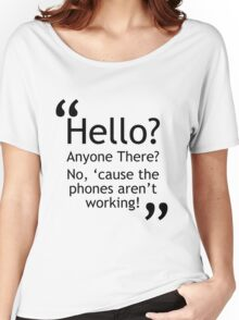 Torchwood - Phones Aren't Working Women's Relaxed Fit T-Shirt