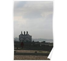 The Old Neptune on Whitstable Beach Poster