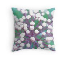 Flower 1 Macro Throw Pillow