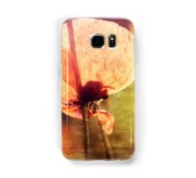 Poppy with Bumble Bee Samsung Galaxy Case/Skin