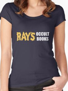 Ray's Occult Books Women's Fitted Scoop T-Shirt