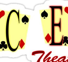 Aces Theater Sticker