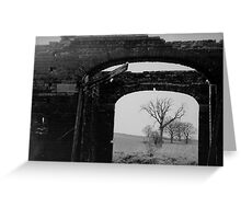 Black And White Photo In A Photo Greeting Card