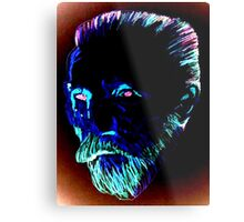 Blue Vincent Metal Print