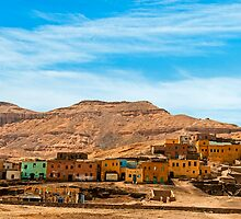 Deir Al Medina Village by bulljup