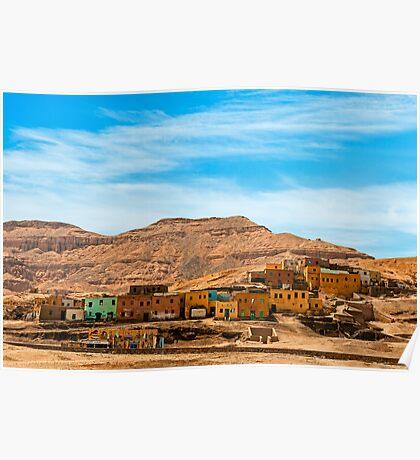 Deir Al Medina Village Poster