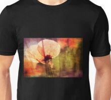 Poppy with Bumble Bee Unisex T-Shirt