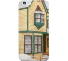 The House in a Winter Wonderland iPhone Case/Skin