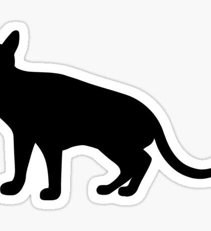 Abyssinian Cat Sticker