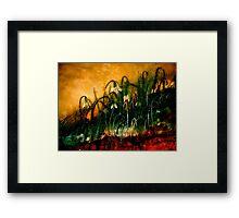 The Rapture of Life... Framed Print